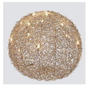 Lampa stołowa Almni, 50 cm, srebrna