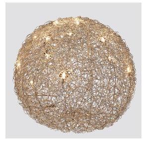 Lampa stołowa Almni 60 cm, srebrna