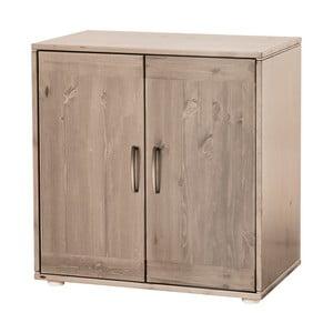Brązowa szafka dziecięca z drewna sosnowego Flexa Classic