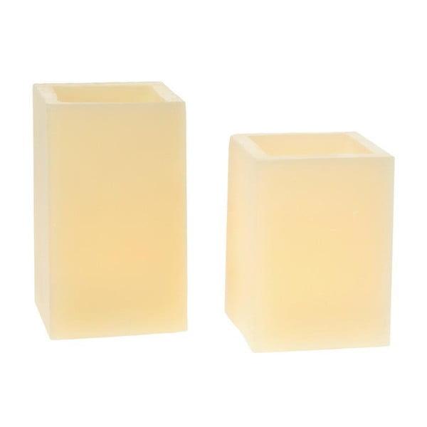 Zestaw 2 świeczek Cream Touched