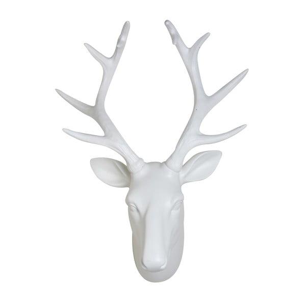 Biała dekoracja ścienna YWL Deer