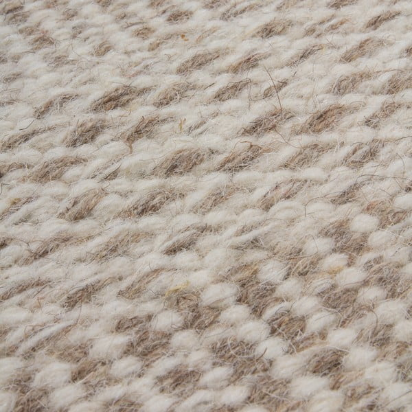 Wełniany dywan Mariposa 160x230 cm, beżowy
