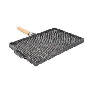 Nieprzywierająca patelnia grillowa Sirio Doppio, 37 x 25 cm