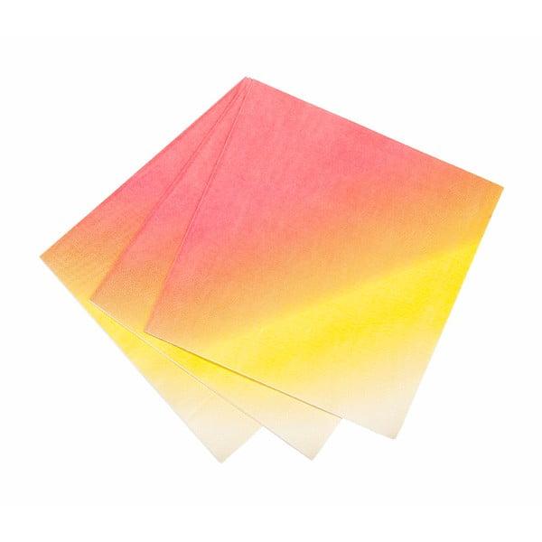 Zestaw 20 papierowych serwetek Luncheon