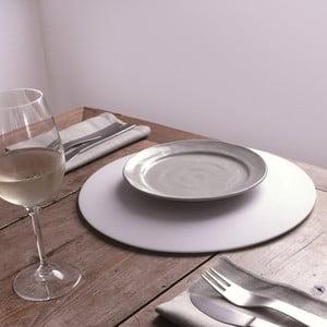 Antypoślizgowe podkładki pod talerze Sottosotto, 4 sztuki, białe