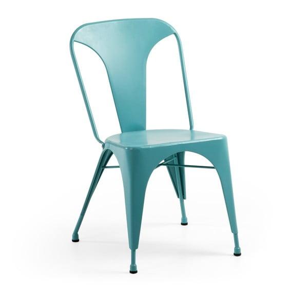 Krzesło Malibu, turkusowe