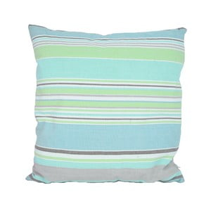 Niebiesko-zielona poduszka Ego Dekor New Classic Stripe, 45x45cm