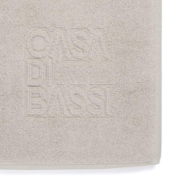 Jasnoszary bawełniany dywanik łazienkowy z bawełny Casa Di Bassi Basic, 50x70 cm