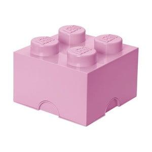Jasnoróżow kwadratowy LEGO®