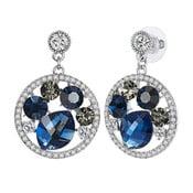 Kolczyki w kolorze srebra Luxury