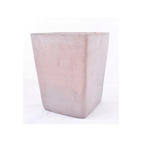 Doniczka ceramiczna Copenhagen 24 cm, szara