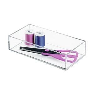 Przezrroczysty pojemnik InterDesign Clarity, 20x10 cm