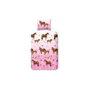 Pościel dziecięca Horses, 140x200 cm