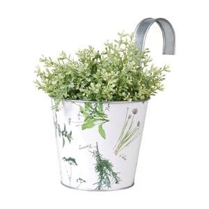 Blaszana doniczka wisząca Esschert Design Herbs