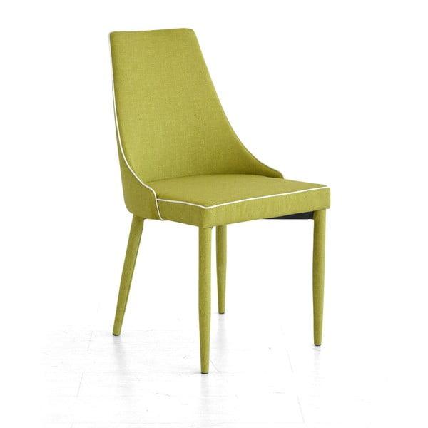 Krzesło Plana, zielone