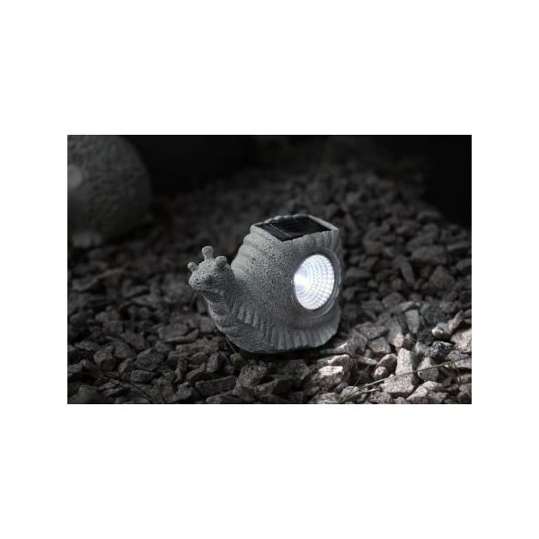 Solarna lampa ogrodowa LED Snail