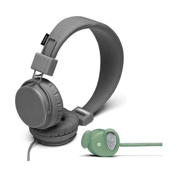 Słuchawki Plattan Dark Grey + słuchawki Medis Sage GRATIS