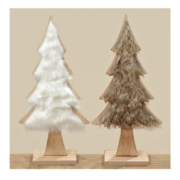 Zestaw 2 dekoracyjnych choinek Nature Tree