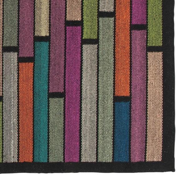 Wełniany dywan Rubina Black, 170x240 cm