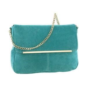 Skórzana torebka Mollie Turquoise
