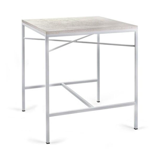 Biały stolik Serax Terazzo
