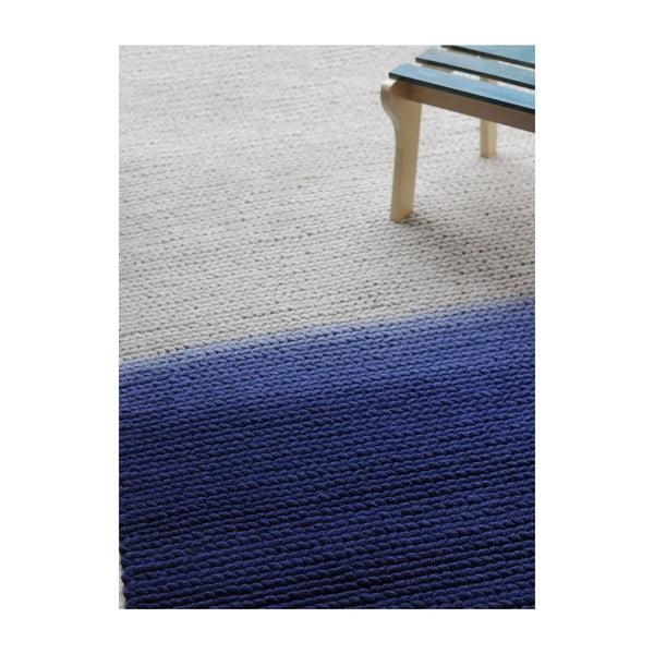 Wełniany dywan Kollam Grey/blue, 160x230 cm