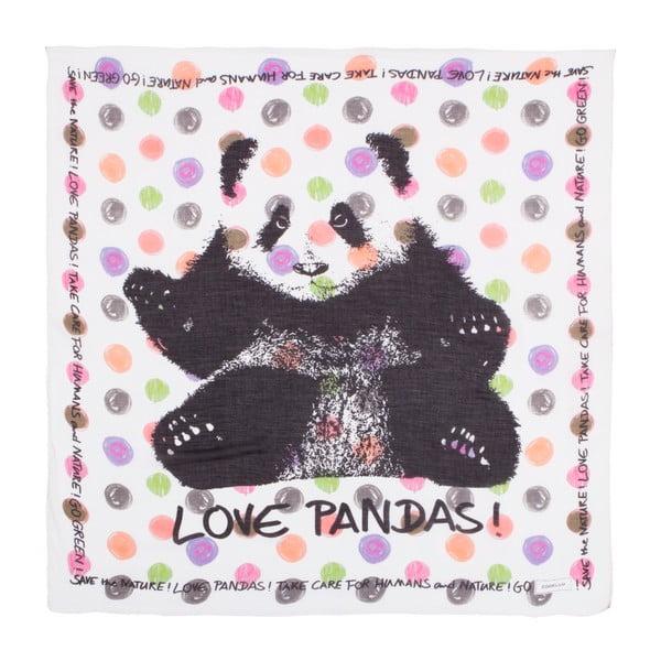 Szalik Codello Take Care Panda White