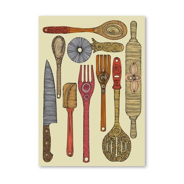 "Plakat ""Let's Cook"", Valentina Ramos"