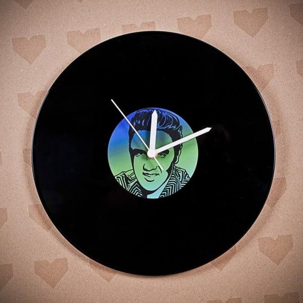Winylowy zegar Elvis Presley