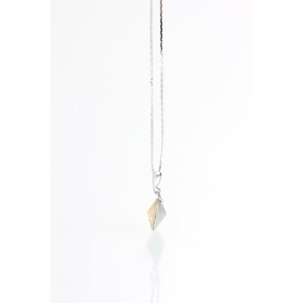 Naszyjnik z kryształami Swarovskiego Yasmine Golden