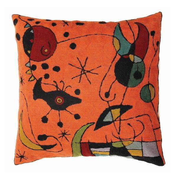 Poszewka na poduszkę Miro Orange, 45x45 cm