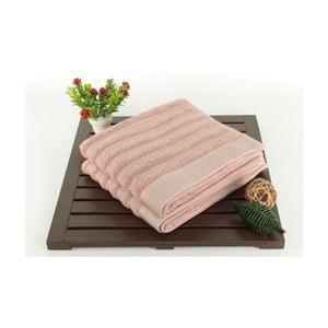 Zestaw 2 ręczników Fance Dusty Rose, 50x90 cm