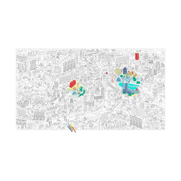 Kolorowanka London, XXL