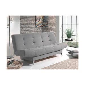 Szara sofa rozkładana Sinkro Zero