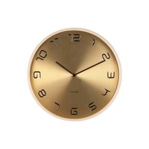 Złoty zegar Present Time Bent