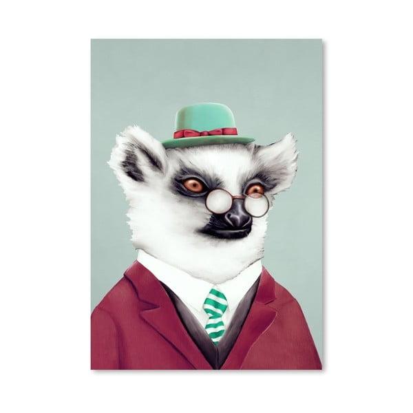 "Plakat ""Lemur"", 30x42 cm"