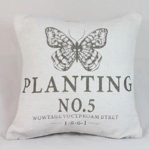 Poszewka na poduszkę Planting, jasna