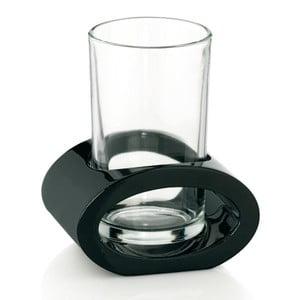 Szklanka z czarnym uchwytem Kela Mirage