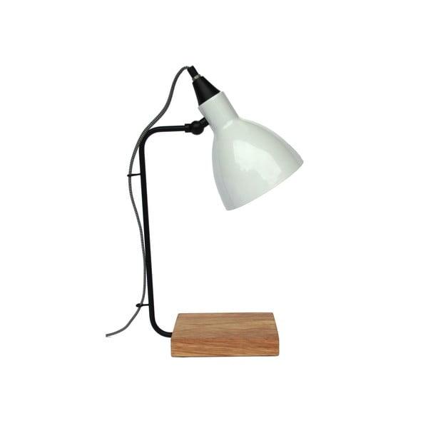 Lampa stołowa Hampton White