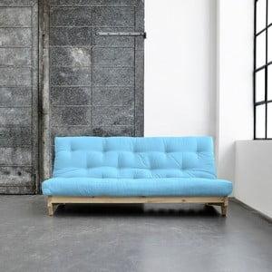Sofa rozkładana Karup Fresh Natural/Celeste