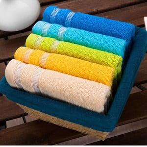 Zestaw 5 ręczników Oil Basket, 30x50 cm