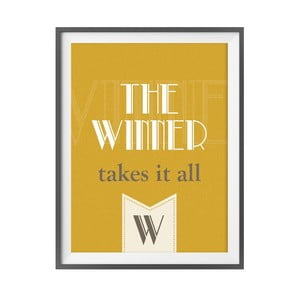 Plakat muzyczny The Winner Takes It All