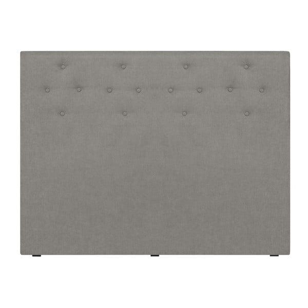 Jasnoszary zagłówek łóżka Windsor & Co Sofas Phobos, 140x120 cm