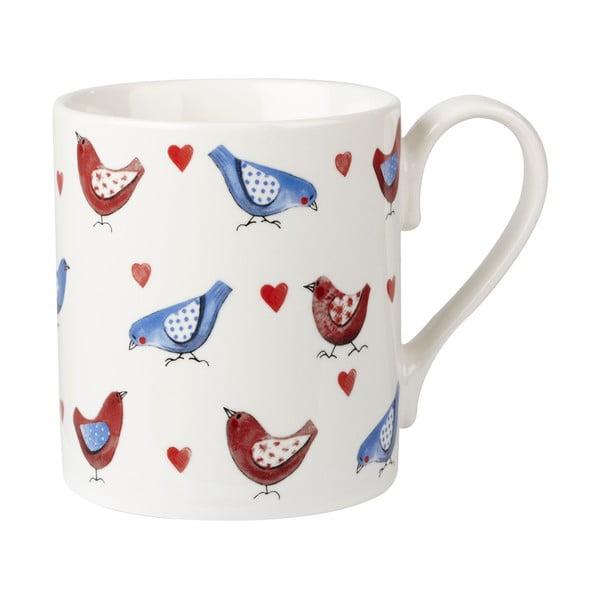 Prezentowy komplet 4 kubków Lovebirds
