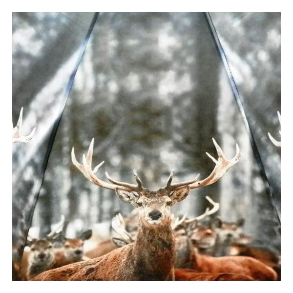 Parasol Winter Reindeer