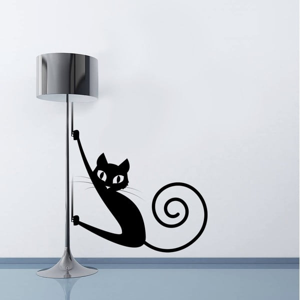 Naklejka ścienna Kot, 70x50 cm