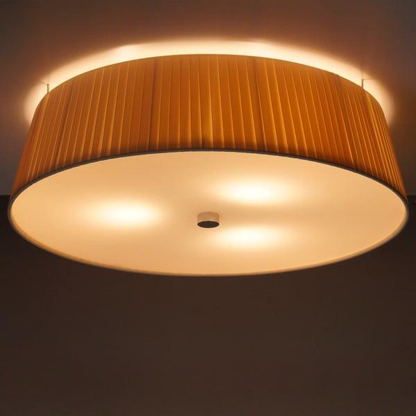 Kremowa   lampa sufitowa Bulb Attack Dos Plisado, ⌀ 45cm