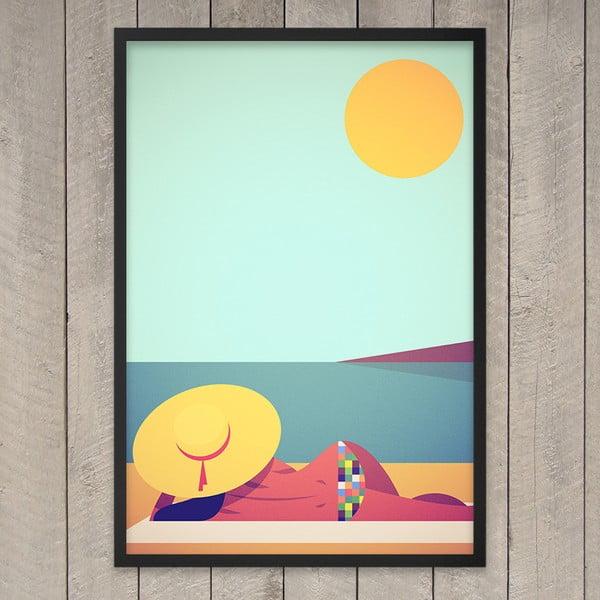 """Plakat """"J'adore Le Soleil"""", 29,7x42 cm"""