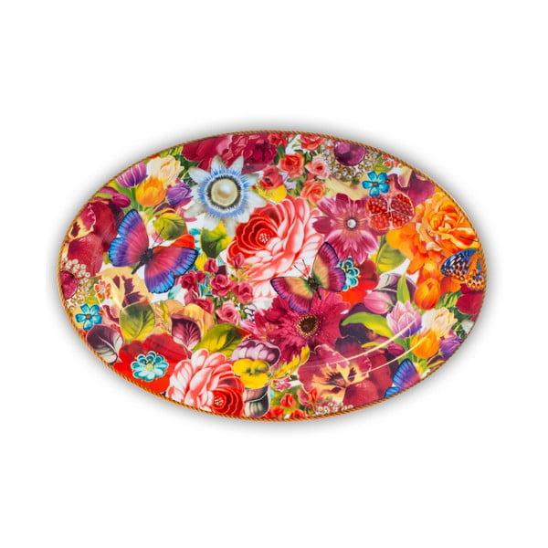 Porcelanowa taca Melli Mello Eliza, 35.5 cm