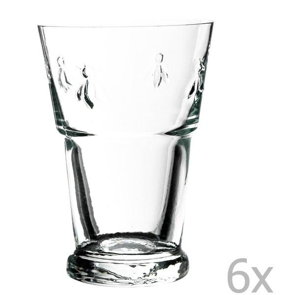 Zestaw 6 szklanek Abeille, 400 ml